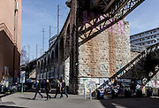 Switzerland, Zurich: Viaduktstrasse