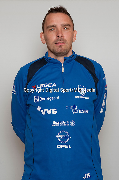 Fotball , Tippeligaen 2013 , Eliteserien , portrett , portretter , Sarpsborg08 , Joakim Kl&aelig;boe , assistent trener<br /> Foto: Astrid M. Nordhaug