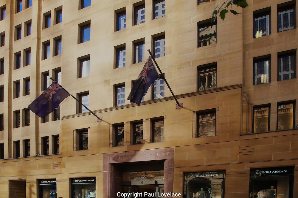 Emporio Armani re-opens its flagship Sydney store, Sydney Australia.