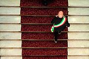 2013/03/21 Roma, assemblea nazionale dell'Associazione Nazionale dei Comuni d'Italia. Nella foto un sindaco.<br /> Rome, National Meeting of ANCI (reading National Association of Italian Municipalities). In the picture a mayor - &copy; PIERPAOLO SCAVUZZO