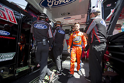 April 13, 2018 - Bristol, Tennesse, United States of America - April 13, 2018 - Bristol, Tennesse , USA: Ty Majeski (60) gets ready to practice for the Fitzgerald Glider Kits 300 at Bristol Motor Speedway in Bristol, Tennesse  (Credit Image: © Stephen A. Arce/ASP via ZUMA Wire)