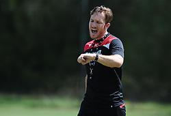 Bristol City fitness and conditioning coach, Rhys Carter  - Photo mandatory by-line: Joe Meredith/JMP - Mobile: 07966 386802 - 16/07/2015 - SPORT - Football - Albufeira -  - Pre-Season Training