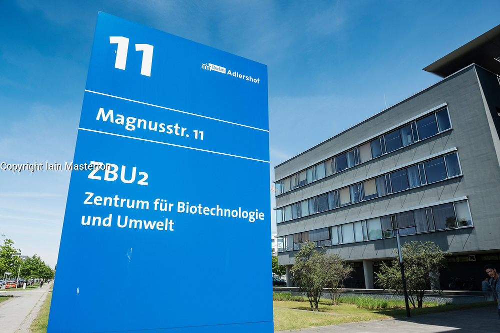 Centre of Biotechnology and the Environment  at Adlershof Science and Technology Park  Park in Berlin, Germany