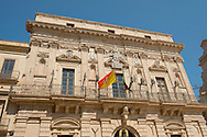 The Palazzo Beneventano del Bosco in the Piazza del Duomo, Ortigia, Syracuse, Italy