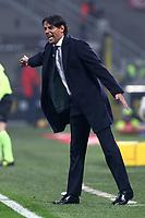 Milan-Lazio - Tim Cup 2017/18 - Semifinale di andata - Nella foto: Simone Inzaghi  allenatore della  Lazio