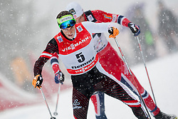 Johannes Duerr of Austria during Mans 9km Classic (Final climb) mass start of the Tour de Ski 2014 of the FIS cross country World cup on January 5th, 2014 in Cross Country Centre Lago di Tesero, Val di Fiemme, Italy. (Photo by Urban Urbanc / Sportida)
