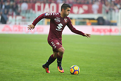 November 19, 2017 - Turin, Piedmont, Italy - Iago Falque (Torino FC) during the Serie A football match between Torino FC and AC Chievo Verona at Olympic Grande Torino Stadium on 19 November, 2017 in Turin, Italy. (Credit Image: © Massimiliano Ferraro/NurPhoto via ZUMA Press)