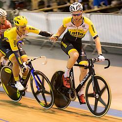 29-12-2015: Wielrennen: NK Baan: Alkmaar  ALKMAAR (NED) baanwielrennen  <br /> Op de wielerbaan van Alkmaar streden de wielrenners om de nationale baantitels<br /> <br /> ALKMAAR (NED) baanwielrennen