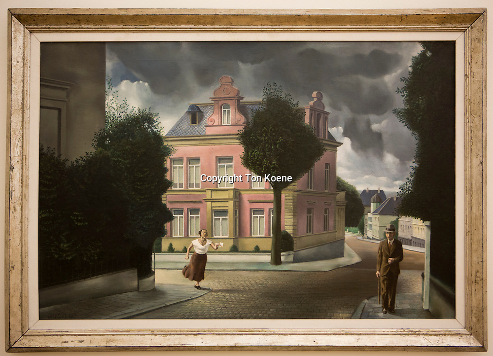 Carel Willink, bad tidings, 1932