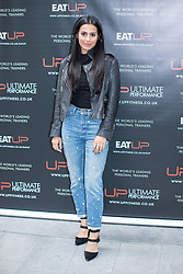 © Licensed to London News Pictures . 31/07/2017 . Manchester , UK . Coronation Street actor Sair Khan at the opening event for Up Gym in Spinningfields . Photo credit : Joel Goodman/LNP