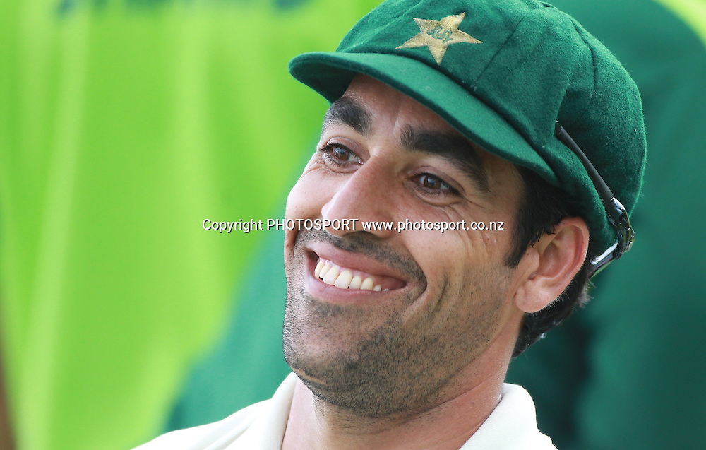 Pakistan bowler Umar Gul who destroyed New Zealand's lower order with 4 wickets on Day 4 of the 2nd test match.  New Zealand Black Caps v Pakistan, Test Match Cricket. Basin Reserve, Wellington, New Zealand. Tuesday 18 January 2011. Photo: Andrew Cornaga/photosport.co.nz