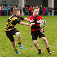 Ennis Brian Crowley Hayes is tackled by Young Munster
