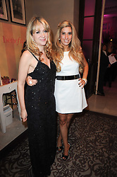 Left to right, SONIA FRIEDMAN and STACEY SOLOMAN at the after show party following the first night of the musical Legally Blonde, held at the Waldorf Hilton Hotel, Aldwych, London on 13th January 2010.