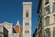 View of the Duomo and Campanille <br /> Florence, Tuscany, Italy