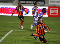 Luiz Adriano reacts after nearly scoring. Toulouse v Shakatar Donestk, Uefa Europa League, Stade Municipal, Toulouse, France, 5th November 2009.