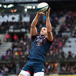 Yoann Maestri of France during the RBS Six Nations match between France and Wales at Stade de France on March 18, 2017 in Paris, France. (Photo by Dave Winter/Icon Sport)