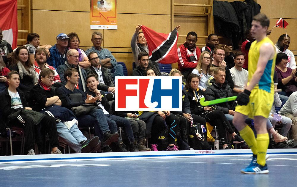 BERLIN - Indoor Hockey World Cup<br /> Trinidad &amp; Tobago - Australia<br /> foto: Fans<br /> WORLDSPORTPICS COPYRIGHT FRANK UIJLENBROEK