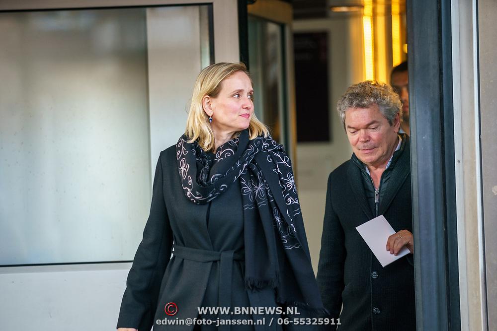 NLD/Amsterdam/20181027 - Herdenkingsdienst Wim Kok, Koen Verbraak en partner