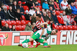 March 2, 2019 - Sunderland, England, United Kingdom - Sunderland's George Honeyman contests for the ball during the Sky Bet League 1 match between Sunderland and Plymouth Argyle at the Stadium Of Light, Sunderland on Saturday 2nd March 2019. (Credit Image: © Mi News/NurPhoto via ZUMA Press)