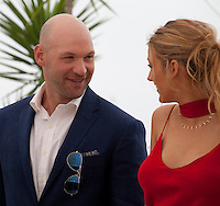 Actor Corey Stoll and Actress Blake Lively at the Café Society film photo call at the 69th Cannes Film Festival Wednesday 11th May 2016, Cannes, France. Photography: Doreen Kennedy