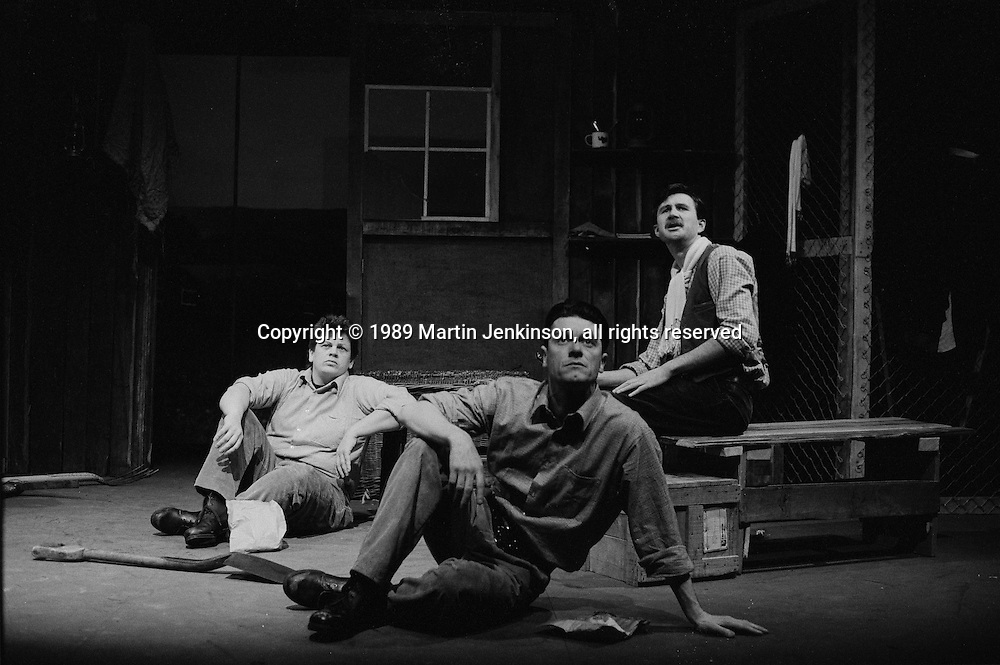 Brandon, The Spirit of Resistance. A Sheffield Popular Productions play about the 1930's Labour Camps sponsored by NALGO. 28/03/89.