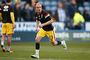 MK Dons midfielder, on loan from Crystal Palace, Jonny Williams (23)  during the Sky Bet Championship match between Sheffield Wednesday and Milton Keynes Dons at Hillsborough, Sheffield, England on 19 April 2016. Photo by Simon Davies.
