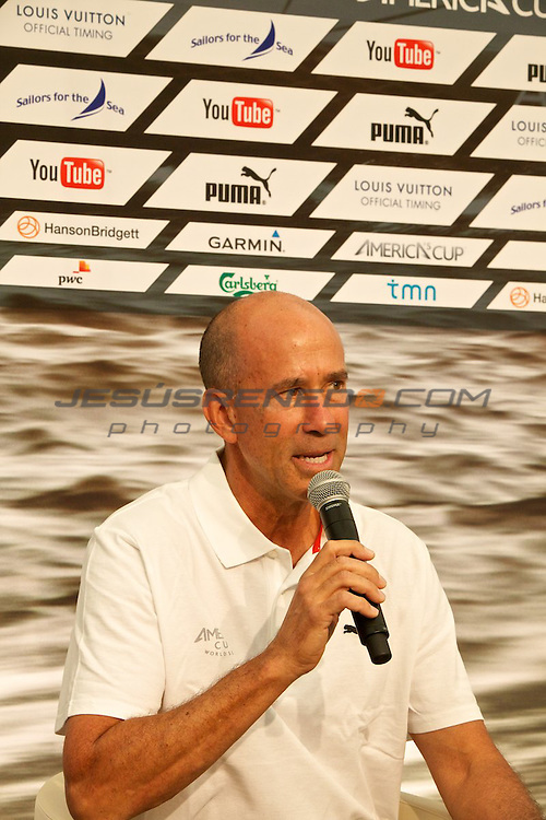 AC World Series,Cascais,34TH AMERICA'S CUP AND YOUTUBE ANNOUNCE GROUNDBREAKING MEDIA PARTNERSHIP.Claude Ruibal,YouTube global head of sports content.