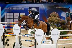 LANSKE Christoph (MVP), Chacco´s Girl<br /> Braunschweig - Löwenclassics 2018<br /> Deutsche Meisterschaft der Landesverbände<br /> 1. Wertung Mannschaftsspringen<br /> © www.sportfotos-lafrentz.de/Stefan Lafrentz