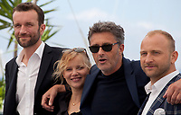 Actor Tomasz Kot, actress Joanna Kulig, director Pawel Pawlikowski and actor Borys Szyc at the Cold War film photo call at the 71st Cannes Film Festival, Friday 11th May 2018, Cannes, France. Photo credit: Doreen Kennedy