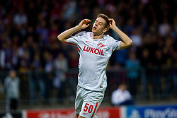 Maro Pasalic of Spartak Moscow during group E football match between NK Maribor and Spartak Moscow in 1st Round of UEFA Champions League, on Septebmer 13, 2017 in Ljudski vrt, Ljubljana, Slovenia. Photo by Ziga Zupan<br />  / Sportida