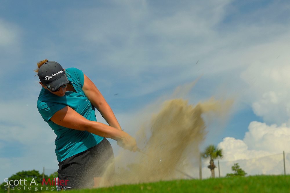 Jessica Alexander during the third round of the Symetra Tour's Chico's Patty Berg Memorial on April 18, 2015 in Fort Myers, Florida.<br /> <br /> &copy;2015 Scott A. Miller