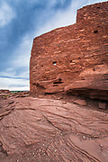 Evening light on Wukoki Ruin, Wupatki National Monument, Arizona
