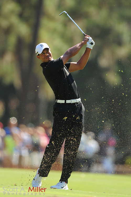 Tiger Woods during the second round of the Players Championship at the TPC Sawgrass on May 11, 2012 in Ponte Vedra, Fla. ..©2012 Scott A. Miller..
