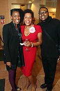 Harlem, NY-April 21:  Photographer Carrie Mae Weems(C) and Guests attend the 60th Birthday Celebration of Famed Photographic Artist Carrie Mae Weems held at the Alhambra Ballroom in the village of Harlem on April 21, 2013. © Terrence Jennings