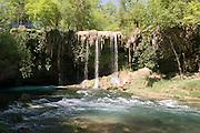 Turkey, Antalya, Upper Duden River waterfalls