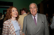 Lord and Lady Quinton. Celebration of Lord Weidenfeld's 60 Years in Publishing hosted by Orion. the Weldon Galleries. National Portrait Gallery. London. 29 June 2005. ONE TIME USE ONLY - DO NOT ARCHIVE  © Copyright Photograph by Dafydd Jones 66 Stockwell Park Rd. London SW9 0DA Tel 020 7733 0108 www.dafjones.com