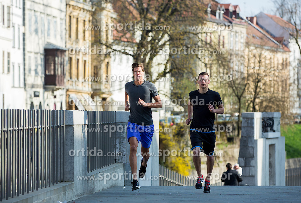 Triathlon athlete David Plese for Adidas, on April 9, 2015 in Ljubljana, Slovenia. Photo by Vid Ponikvar / Sportida