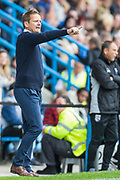 Neal Ardley, Manager of AFC Wimbledon during the EFL Sky Bet League 1 match between Gillingham and AFC Wimbledon at the MEMS Priestfield Stadium, Gillingham, England on 8 September 2018.