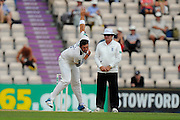 Tim Bresnan of Yorkshire bowling during the Specsavers County Champ Div 1 match between Hampshire County Cricket Club and Yorkshire County Cricket Club at the Ageas Bowl, Southampton, United Kingdom on 1 September 2016. Photo by Graham Hunt.