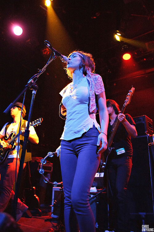 Company of Thieves performs at Bowery Ballroom during CMJ Music Marathon in New York City on October, 23, 2008.