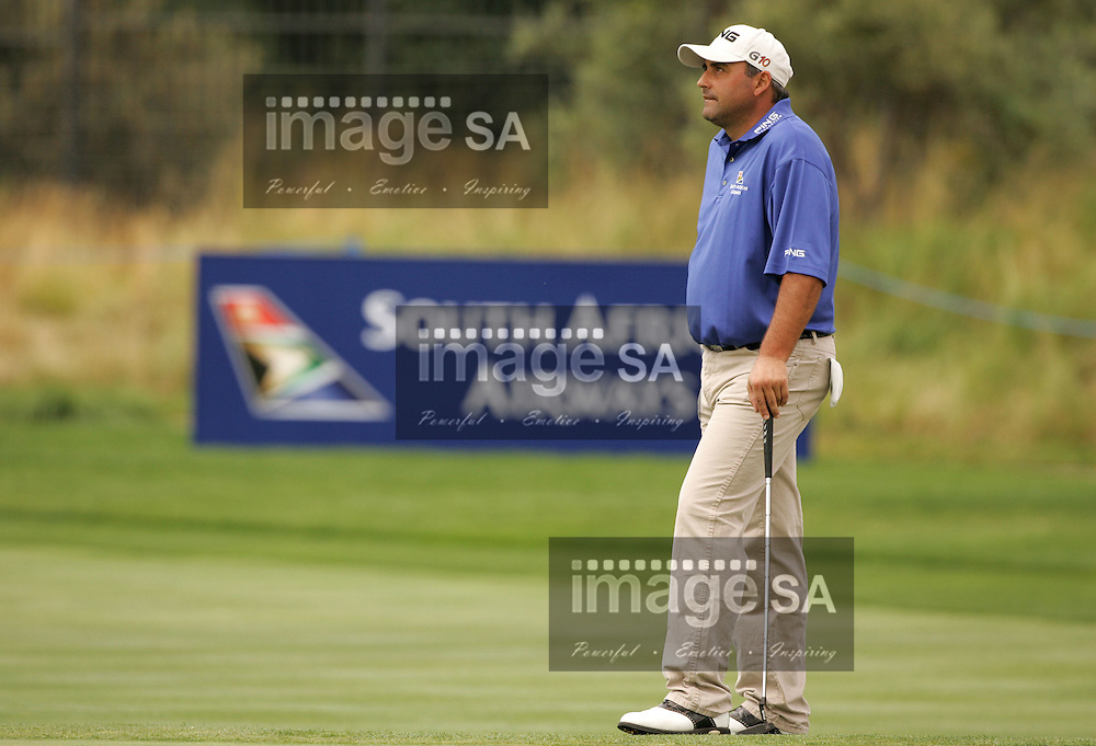 South African Airways Open 2007 | Angel Cabrera | PAARL, South Africa Wednesday 12 December 2007, Angel Cabrera of Argentina during the ProAm held at the Pearl Valley Golf Estate hosting the SAA Open...Photo by Roger Sedres/Image SA....