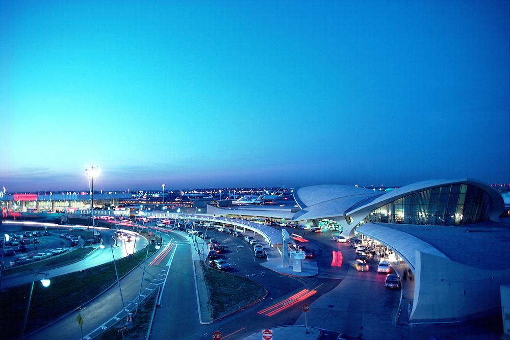 TWA Terminal, John F. Kennedy International Airport, Brooklyn, NYC, NY, designed by Eero Saarinen