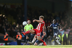 Max Power of Sunderland makes a clearance - Mandatory by-line: Arron Gent/JMP - 04/05/2019 - FOOTBALL - Roots Hall - Southend-on-Sea, England - Southend United v Sunderland - Sky Bet League One