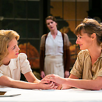 For Services Rendered by Somerset Maugham;<br /> Directed by Howard Davies;<br /> Yolanda Kettle (as Lois Ardsley);<br /> Jo Herbert (as Ethel Bartlett);<br /> Justine Mitchell (as Eva Ardsley);<br /> Minerva, Chichester Festival Theatre, Chichester, UK,<br /> 5 August 2015
