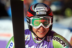 14th placed Mateja Robnik of Slovenia after second run at Maribor women giant slalom race of Audi FIS Ski World Cup 2008-09, in Maribor, Slovenia, on January 10, 2009. (Photo by Vid Ponikvar / Sportida)