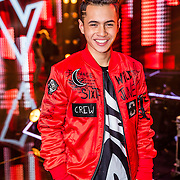 NLD/Hilversum/20170120 - 2de liveshow The Voice of Holland 2017, Vincenzo Tahapary