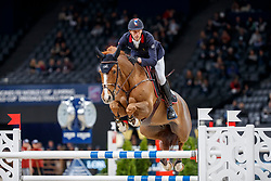 STAUT Kevin (FRA), Reveur de Hurtebise HDC<br /> Paris - FEI World Cup Finals 2018<br /> Longines FEI World Cup Warm Up<br /> www.sportfotos-lafrentz.de/Stefan Lafrentz<br /> 11.04.18