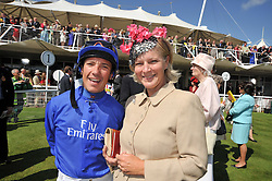 FRANKIE DETTORI and the COUNTESS OF MARCH at the 3rd day of the 2009 Glorious Goodwood racing festival held at Goodwood Racecourse, West Sussex on 30th July 2009.