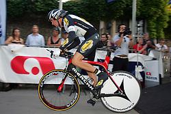 Serry Pieter (BEL) of Topsport Vlaanderen at prologue (6,6km) of Tour de Slovenie 2011, on June 16 2011, in Ljubljana, Slovenia. (Photo by Urban Urbanc / Sportida)