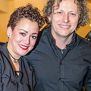 NLD/Amsterdam/20171207 - Perspresentatie Vrienden van Andere Tijden Sport 2017, Syb van der Ploeg en partner Adriana von Bannisseht